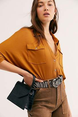 Free People Penny Top Handle Clutch