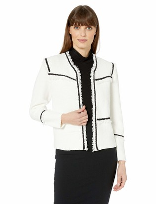 Nic+Zoe Women's Petite First Class Knit Jacket
