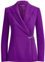 Ralph Lauren Belinda Side-Button Blazer