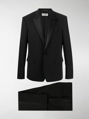 Saint Laurent Silk-Trimmed Tuxedo Jacket