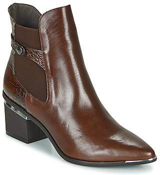 Perlato JAMAICAL women's Low Ankle Boots in Brown