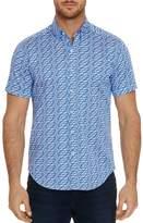 Robert Graham Ashmead Short-Sleeve Paisley-Print Classic Fit Shirt