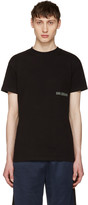Han Kjobenhavn Black Casual Small Logo T-shirt