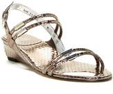 Stuart Weitzman Rolldown Wedge Sandal