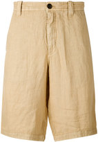 Armani Jeans classic shorts - men - Linen/Flax - 44