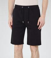 Reiss Reiss Alvin - Jersey Shorts In Blue