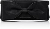 Oscar de la Renta Bow-Embellished Clutch