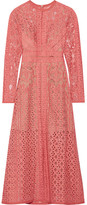 Elie Saab Cotton-blend Lace Dress - Antique rose