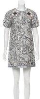 Matthew Williamson Embellished Jacquard Dress w/ Tags