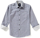 Nautica Big Boys 8-20 Long-Sleeve Chambray Shirt