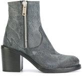 McQ Clapton zip boots