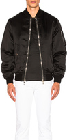 Givenchy Viscose Silk Bomber Jacket