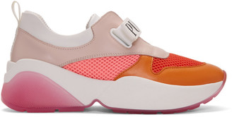 Emilio Pucci Orange Positano Sneakers