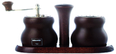 Cuneo Pepper Mill & Salt Shaker Set