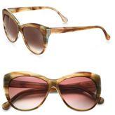 Elizabeth and James Crescent Beveled Cat's-Eye Oversized Sunglasses
