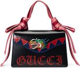 Gucci Naga dragon leather shoulder bag