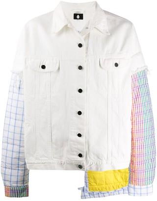 DUOltd Padded Denim Oversized Jacket