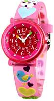 Baby Watch – 606054 – Love Love – Teacher Girl Watch – Quartz – Pink Dial Pink Plastic Strap