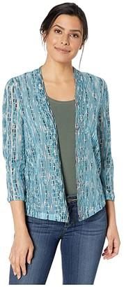 Nic+Zoe Desert Springs Cardy (Multi) Women's Sweater