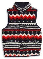 Ralph Lauren Boy's Fleece Printed Vest