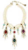 Ben-Amun Byzantine Pearl Teardrop Pearl Necklace