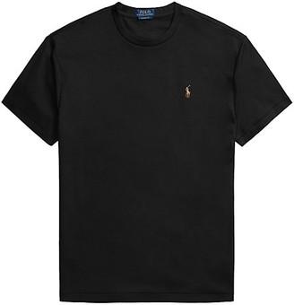 Polo Ralph Lauren Pima Cotton Embroidered Logo T-Shirt