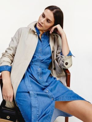 Tommy Hilfiger Denim Midi Shirt Dress