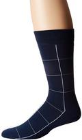 Lacoste Window Pane Sock Men's Low Cut Socks Shoes