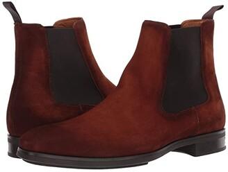 Magnanni Riley (Black) Men's Shoes