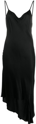 Ann Demeulemeester Asymmetric Slip Dress