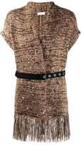 Brunello Cucinelli belted shawl