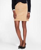 Brooks Brothers Girls Corduroy Skirt 12 Blue