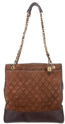 Chanel Quilted Tote