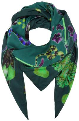 Klements Large Scarf In Rainbow Trout Print