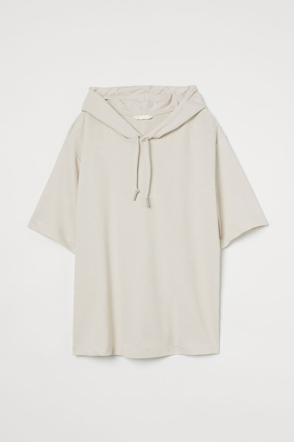 Thumbnail for your product : H&M MAMA Short-sleeved Hoodie - Beige