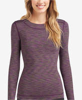 Cuddl Duds FlexFit Crew Long-Sleeve T-Shirt