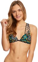 Volcom Tribal Instinct Fixed Triangle Bikini Top 8154137