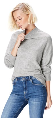 Find. Women's Sweatshirt Soft Oversized Long Sleeve Grey (Grey Marl) XS (US 0-2)