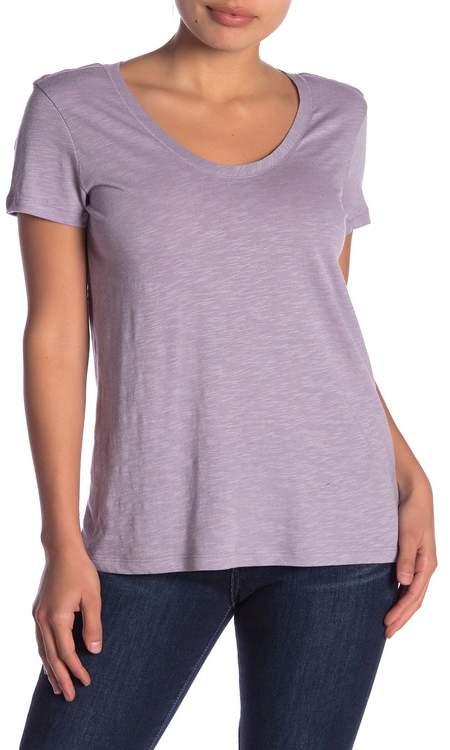 7640ecd0cd09 Purple Slub Shirt - ShopStyle