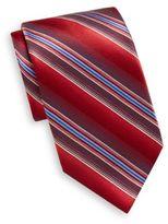Burma Bibas Shadow Stripe Silk Tie & Gift Box