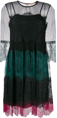 Twin-Set Lace Panel Dress