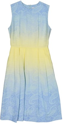 Jonathan Saunders Blue Cotton Dresses