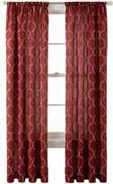Royal Velvet Geneva Rod-Pocket Curtain Panel