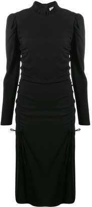 By Malene Birger Drawstring Side Midi Dress