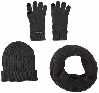Urban Classics Men's Winter Scarf Hat & Glove Set
