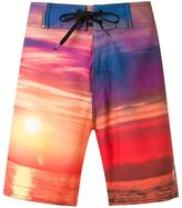 OSKLEN printed swim shorts - men - Polyester/Spandex/Elastane - 46