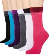 Asstd National Brand Mixit 6pk Crew Socks