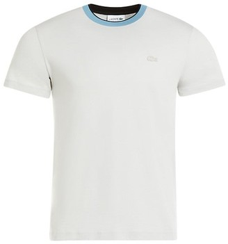 Lacoste Short-Sleeve Crewneck Cotton Jersey T-Shirt