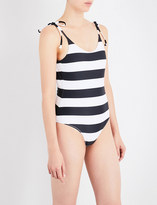 The Upside Tropical Stripe swimsuit