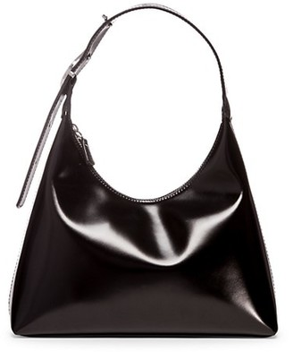 STAUD Scotty Patent Leather Hobo Bag